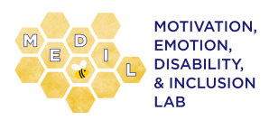 Honeycomb logo for the Motivation, Emotion, Disability, and Inclusion Lab